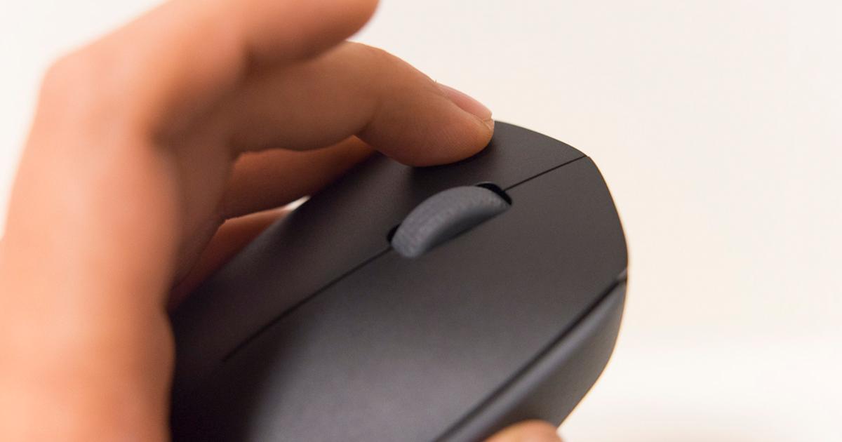 手の小さい人は手の小さい人用のマウスを使おうな