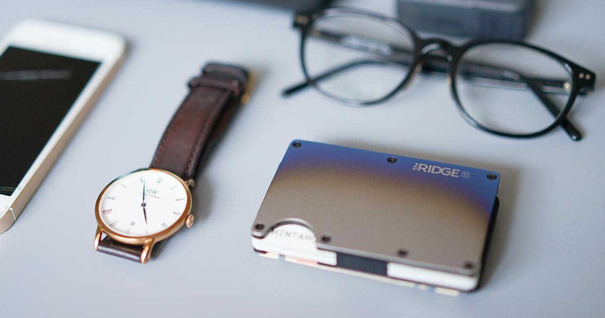 おすすめなマネークリップ!「The RIDGE(ザ・リッジ)」完璧にカードサイズな小さな財布【PR】