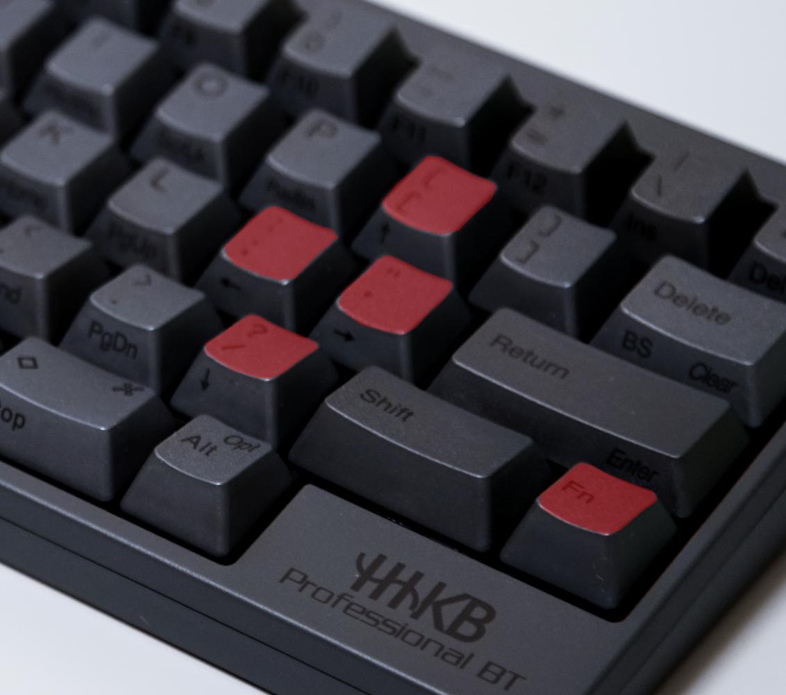 A close up of a keyboard
