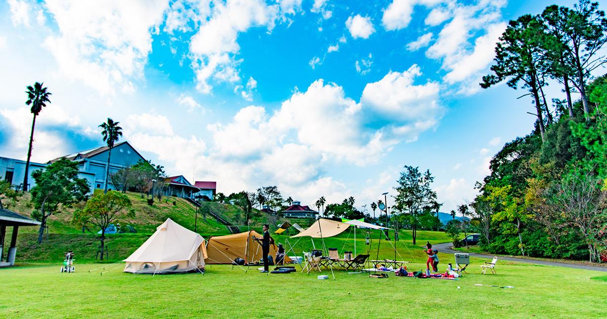 【徳島キャンプ】海陽町にあるオートキャンプ場「まぜのおか」でのんびり秋キャンプ