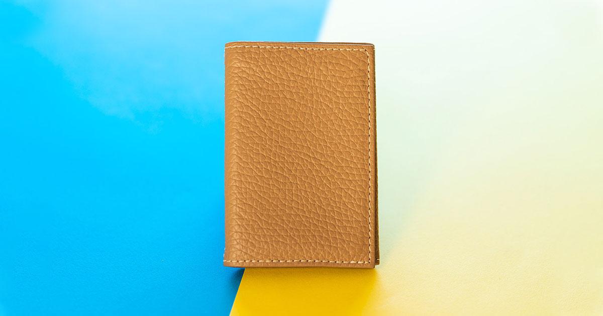 心も荷物も軽い方がいい。小さな財布『PRESSo piqué(プレッソ ピケ)』最初の印象