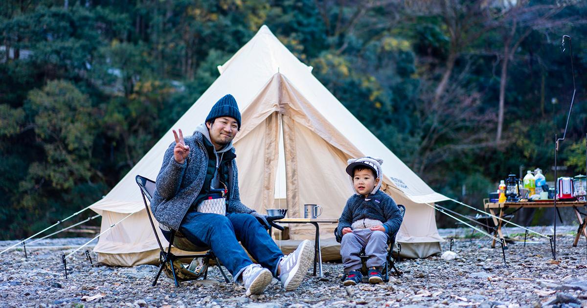 川辺キャンプ! 月ヶ谷温泉村キャンプ場「パンゲアフィールド」